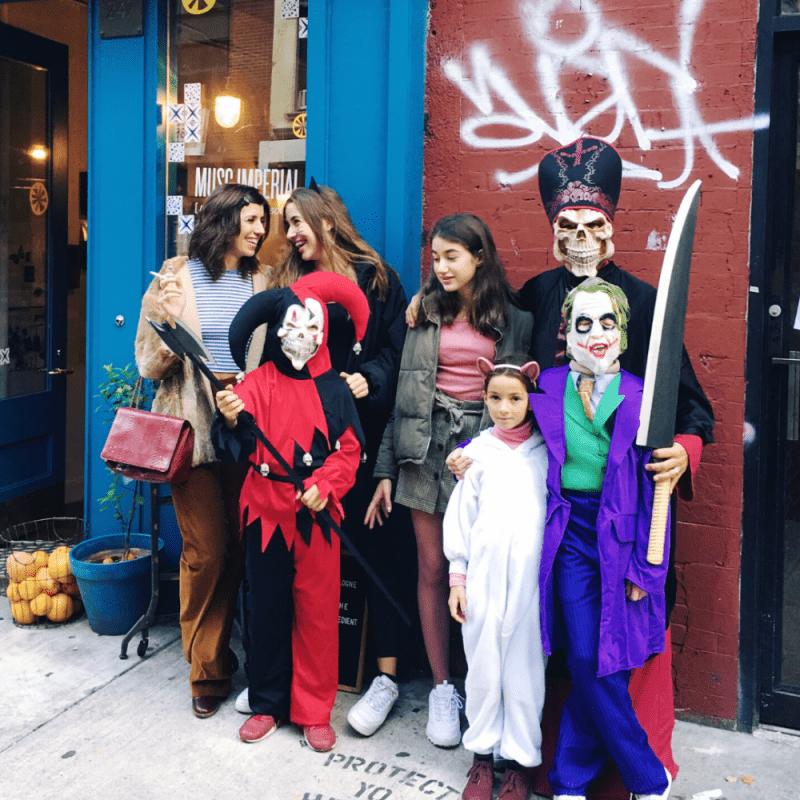 Famille à New-York, Sylvie Ganter,