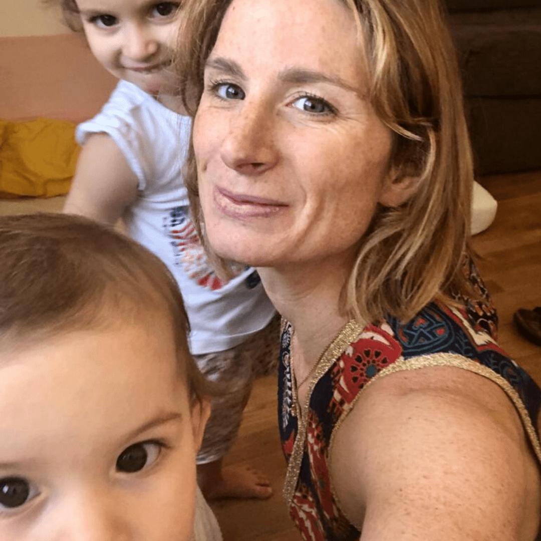Accouchement, Siège, Famille, Enfants, Mère