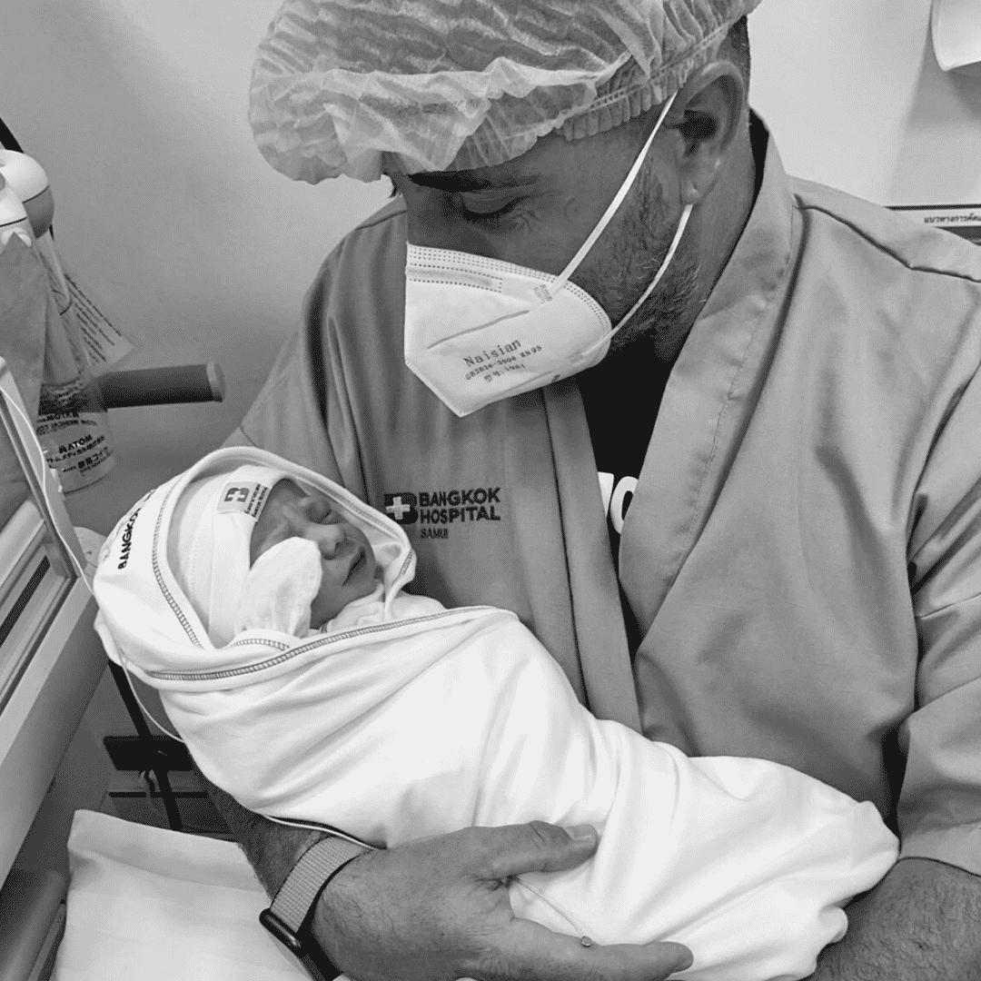 Père, naissance, nouveau-né